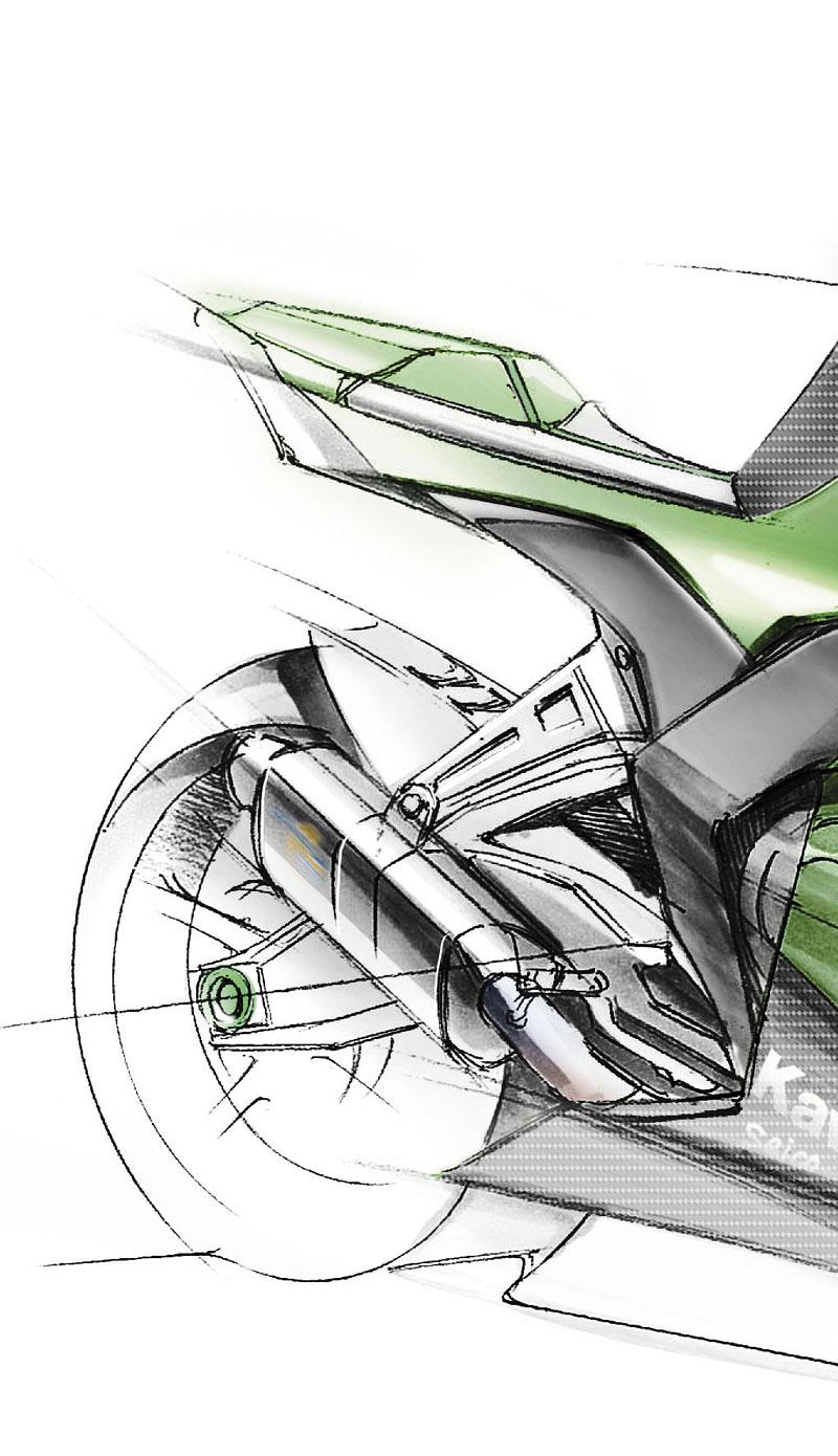Kawasaki ZX-10R Ninja 2011 – zelená výzva: - fotka 3