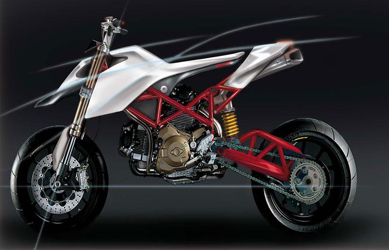 Ducati Students Concept – mládí vpřed: - fotka 3