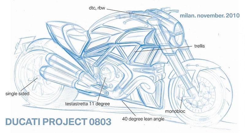 Ducati Diavel – První foto konečné verze: - fotka 3