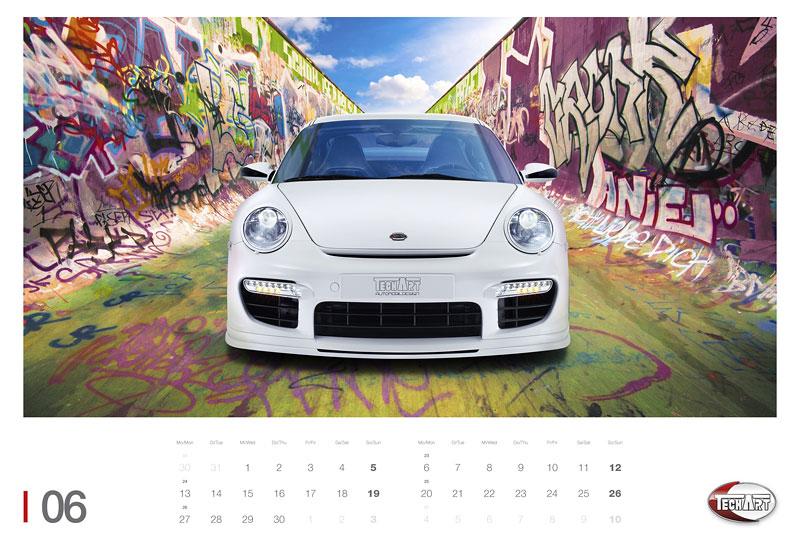 TechArt představuje kalendář na rok 2011: - fotka 3