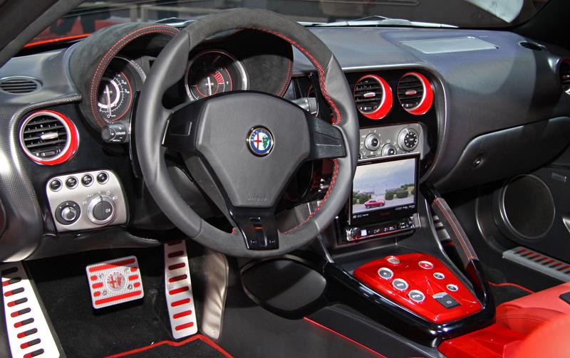Carrozzeria Touring Superleggera Disco Volante: Z nehybného modelu produkční sportovec: - fotka 1
