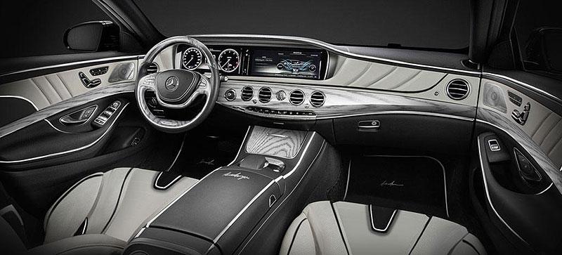 Mercedes-Benz třídy S Pullman od ARES Atelier: - fotka 1