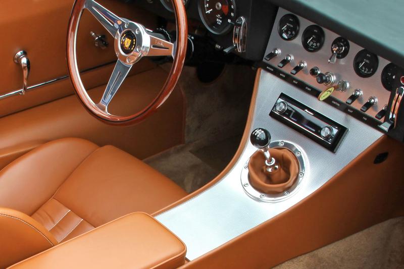 Eagle Spyder GT navazuje na E-Type Speedster a Low Drag GT: - fotka 1