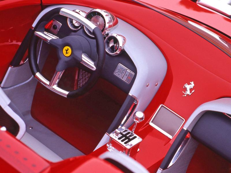 Pod lupou: Pininfarina Ferrari Rossa (2000) - Speedster k narozeninám: - fotka 2