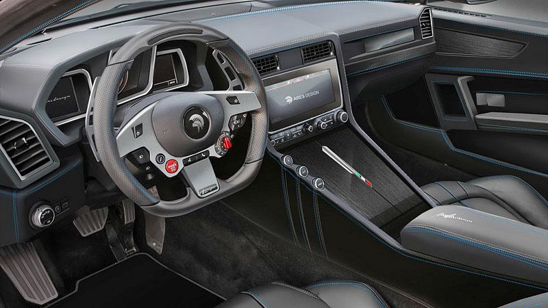 Ares Design chce oživit velké cestovní Ferrari 412 s technikou GTC4 Lusso: - fotka 1