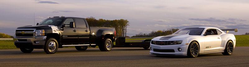 SEMA 2010: Chevrolet Camaro SSX Track Car Concept ...a ti druzí: - fotka 14