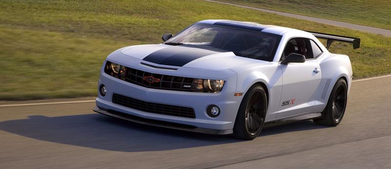 SEMA 2010: Chevrolet Camaro SSX Track Car Concept ...a ti druzí: - fotka 15
