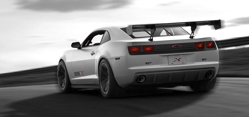 SEMA 2010: Chevrolet Camaro SSX Track Car Concept ...a ti druzí: - fotka 18
