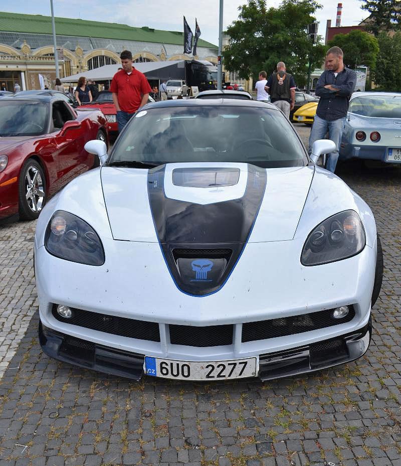 Corvette sraz Praha 2012: velká fotogalerie: - fotka 42
