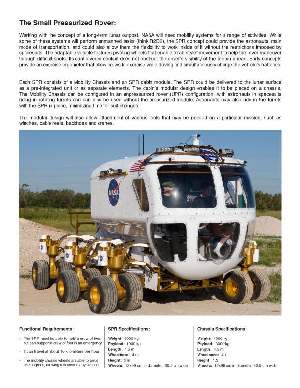 Nové lunární vozítko: fotografie z arizonských testů: - fotka 4