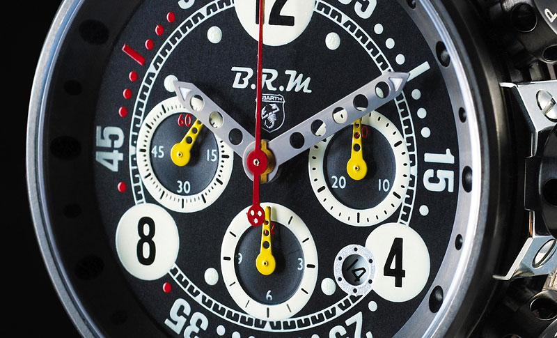Hodinky BRM V12-T-44 Chronograph pro Abarth: - fotka 4