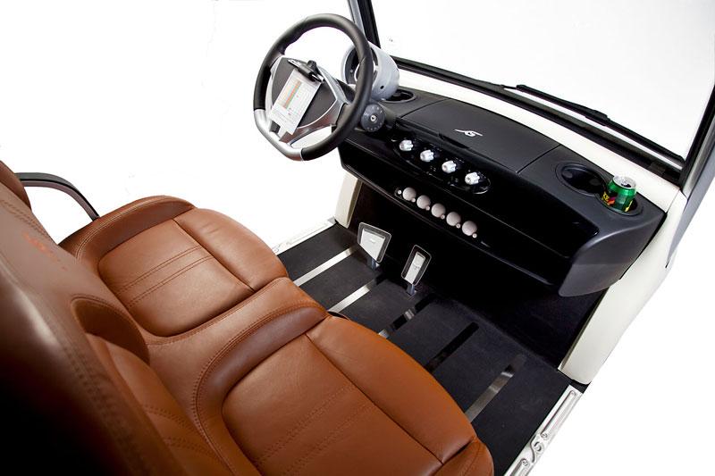 Garia: luxusní vozík pro milovníky golfu: - fotka 3