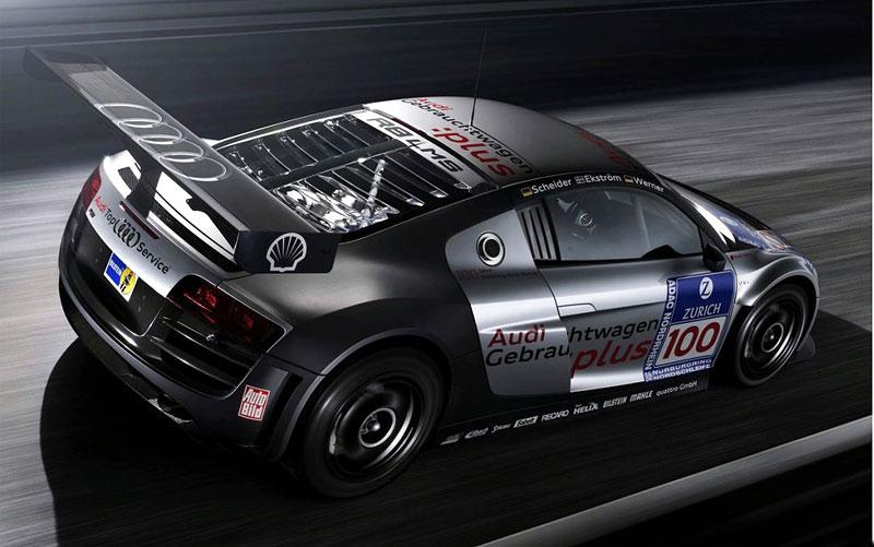 Audi R8 LMS: sedm vozů na 24 hodin Nürburgringu: - fotka 4