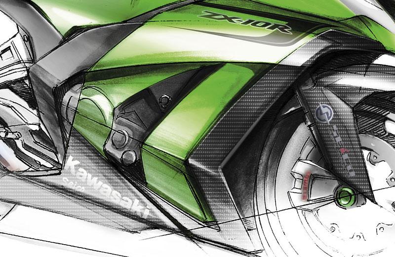 Kawasaki ZX-10R Ninja 2011 – zelená výzva: - fotka 4