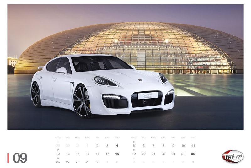 TechArt představuje kalendář na rok 2011: - fotka 4