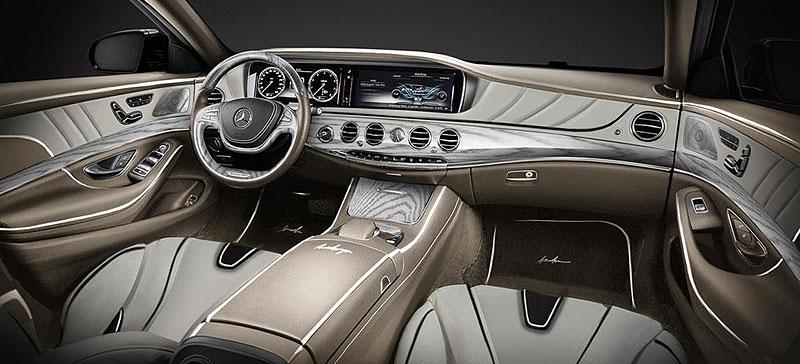 Mercedes-Benz třídy S Pullman od ARES Atelier: - fotka 2