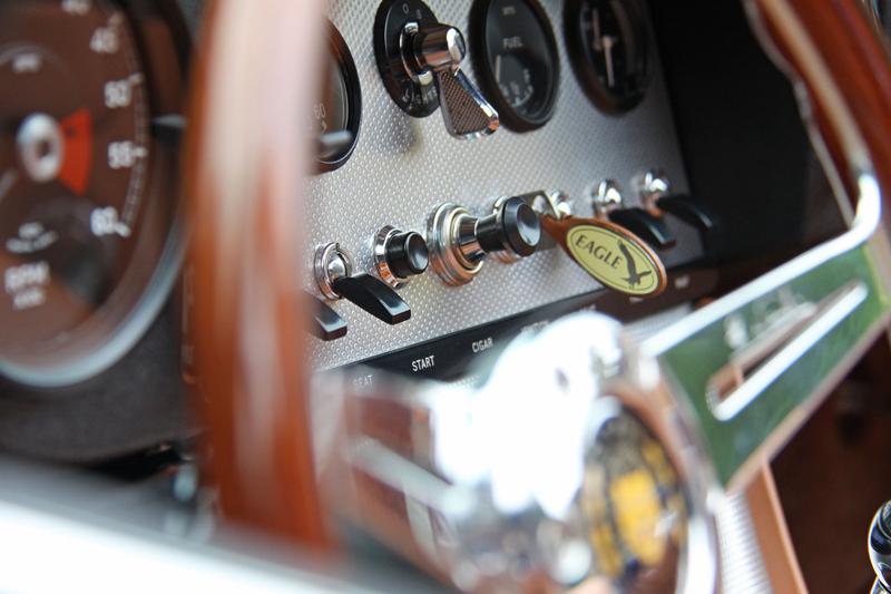 Eagle Spyder GT navazuje na E-Type Speedster a Low Drag GT: - fotka 2
