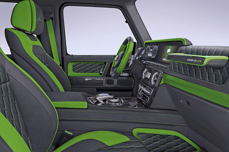 Lumma Design a záplava uhlíkových vláken pro nový Mercedes-AMG G 63: - fotka 2