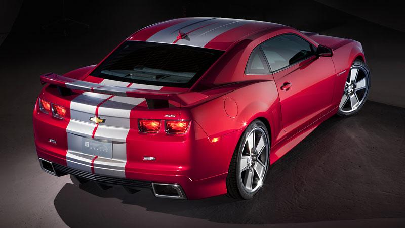 SEMA 2010: Chevrolet Camaro SSX Track Car Concept ...a ti druzí: - fotka 21