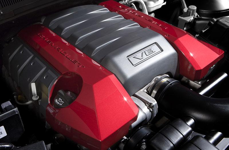 SEMA 2010: Chevrolet Camaro SSX Track Car Concept ...a ti druzí: - fotka 22