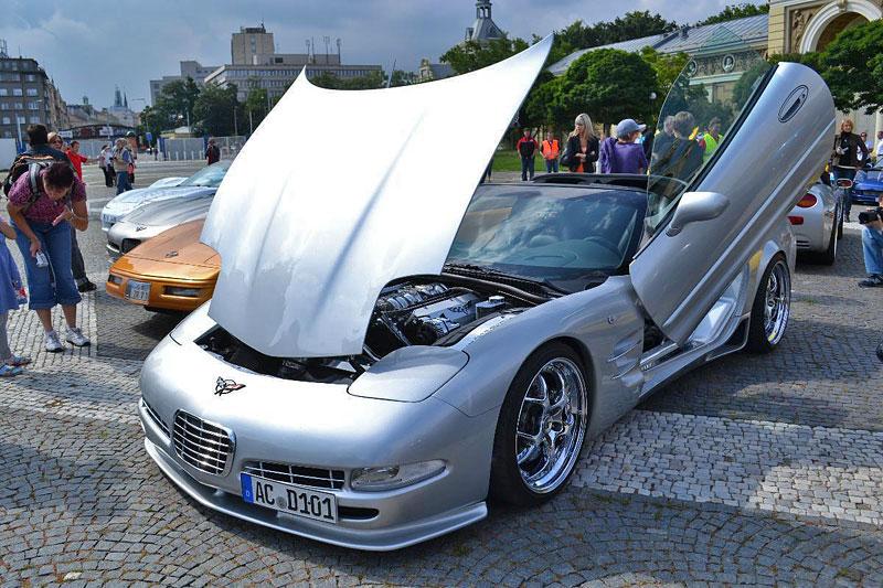 Corvette sraz Praha 2012: velká fotogalerie: - fotka 58