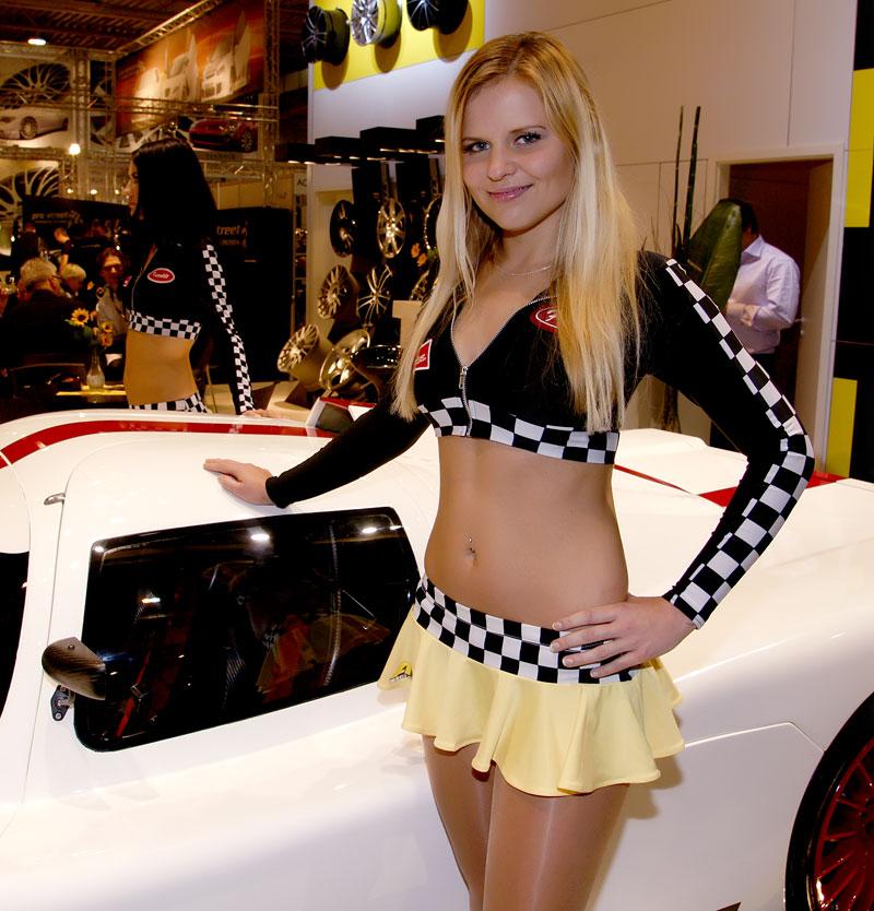 Essen 2009: nejhezčí holky výstavy: - fotka 13