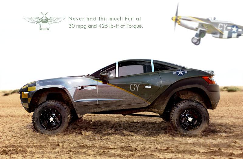Local Motors Rally Fighter: off-road inspirovaný stíhačkou: - fotka 5