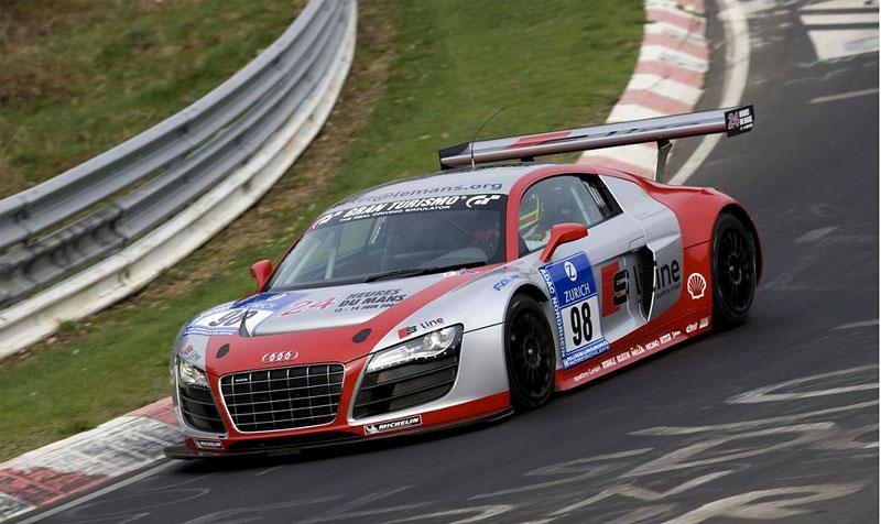 Audi R8 LMS: sedm vozů na 24 hodin Nürburgringu: - fotka 5