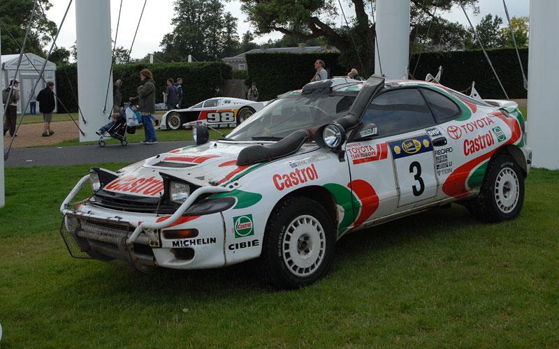 Toyota v Goodwoodu připomene své úspěchy v rallye: - fotka 5
