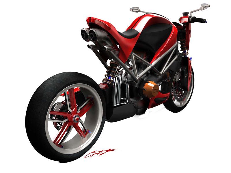 Ducati Students Concept – mládí vpřed: - fotka 5