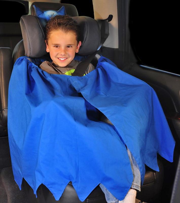 Dětská autosedačka pro malé Batmany a závodníky NASCAR: - fotka 5