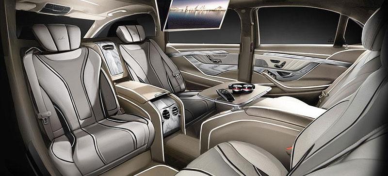 Mercedes-Benz třídy S Pullman od ARES Atelier: - fotka 3