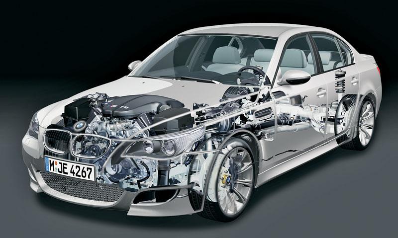 Pod lupou: BMW M5 - Bavorský dálniční expres: - fotka 114