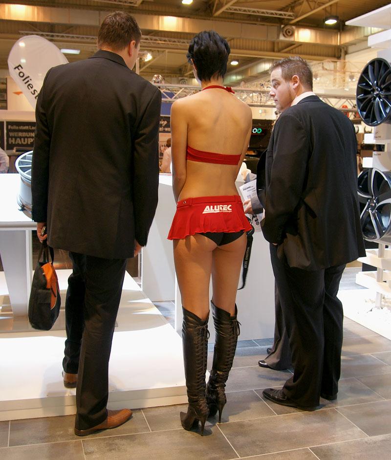 Essen 2009: nejhezčí holky výstavy: - fotka 21