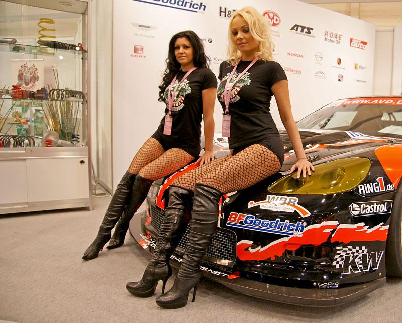 Essen 2009: nejhezčí holky výstavy: - fotka 32
