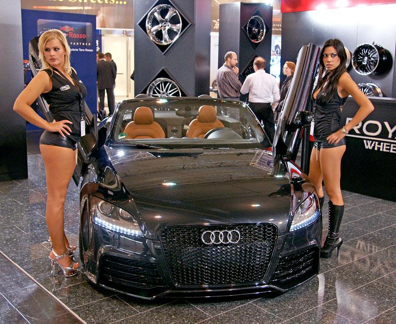 Essen 2009: nejhezčí holky výstavy: - fotka 37