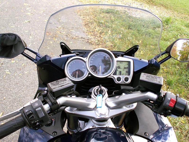 Dueltest - Yamaha FJR1300A vs. Kawasaki 1400GTR: - fotka 4