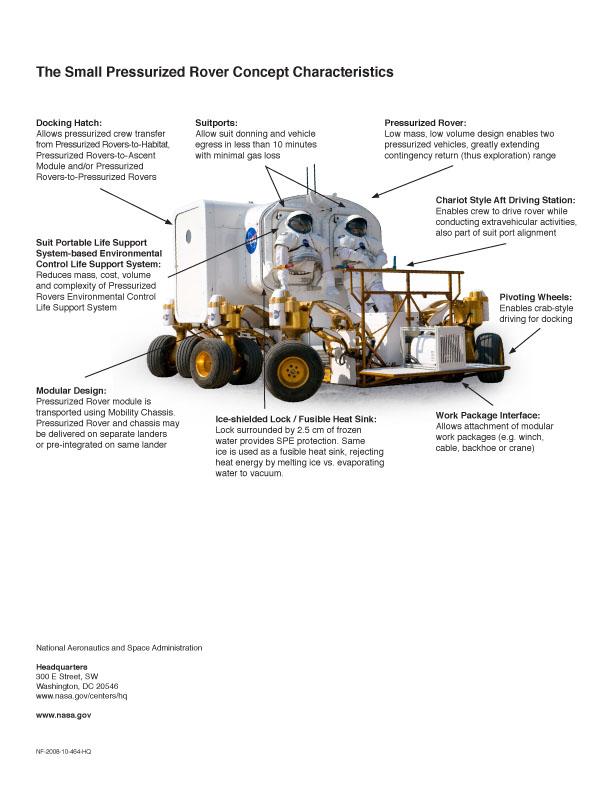 Nové lunární vozítko: fotografie z arizonských testů: - fotka 6