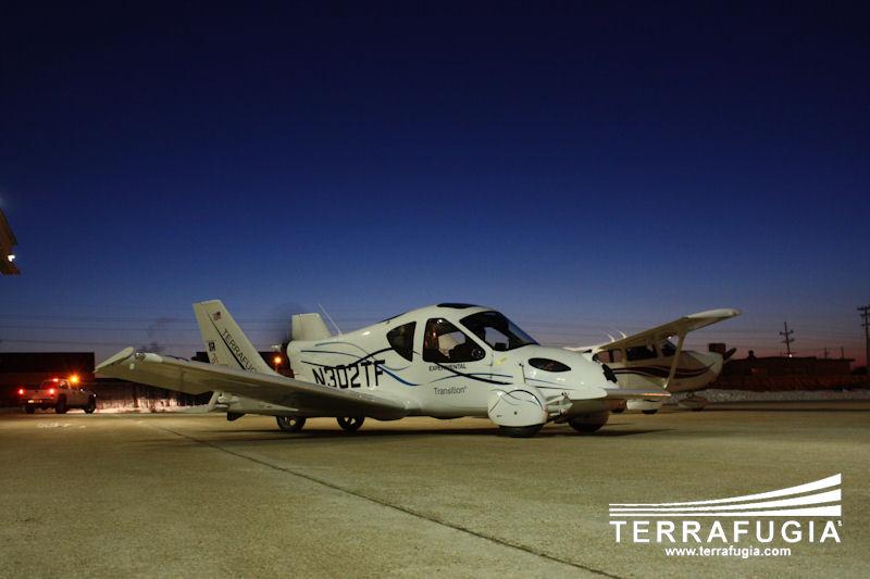 Terrafugia Transition: letadlo schopné jízdy po silnici: - fotka 5