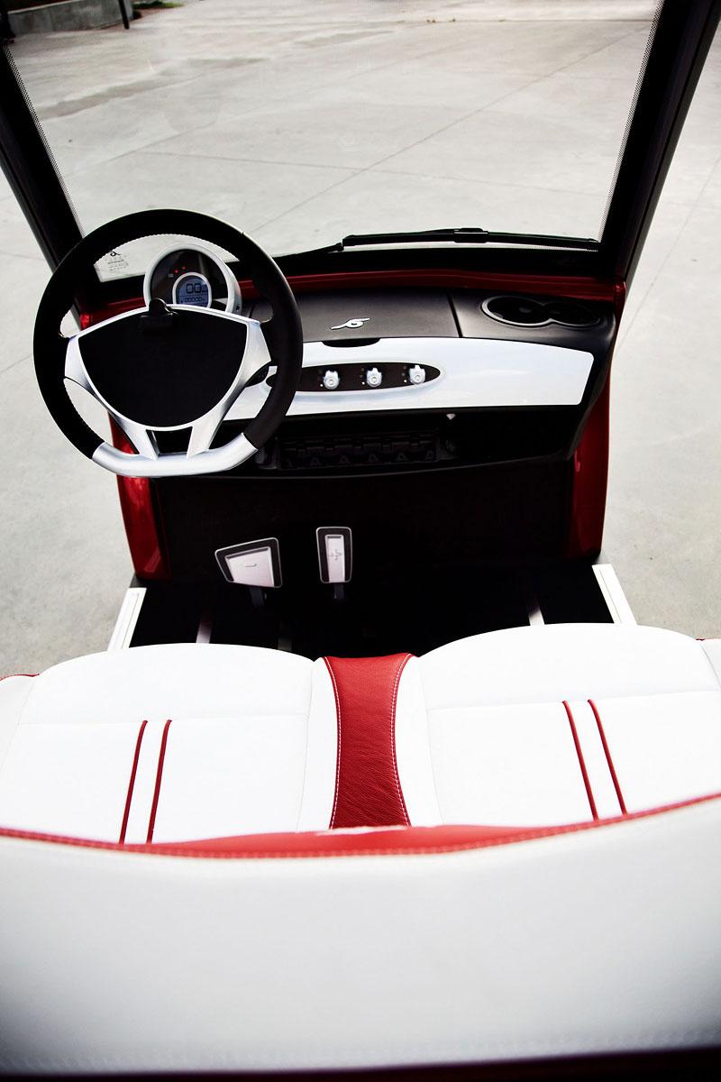 Garia: luxusní vozík pro milovníky golfu: - fotka 5