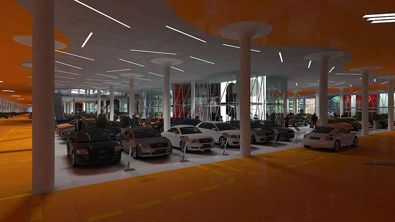 Turecko bude mít největší obchoďák s auty na světě: - fotka 6