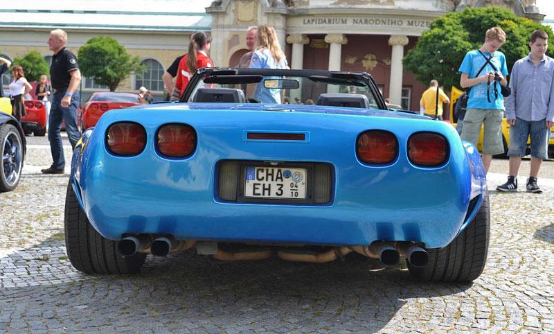 Corvette sraz Praha 2012: velká fotogalerie: - fotka 75
