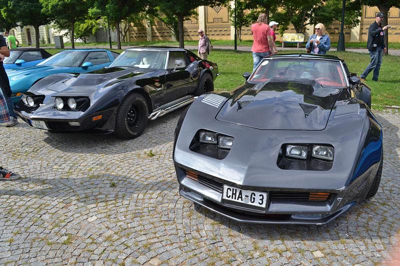 Corvette sraz Praha 2012: velká fotogalerie: - fotka 77