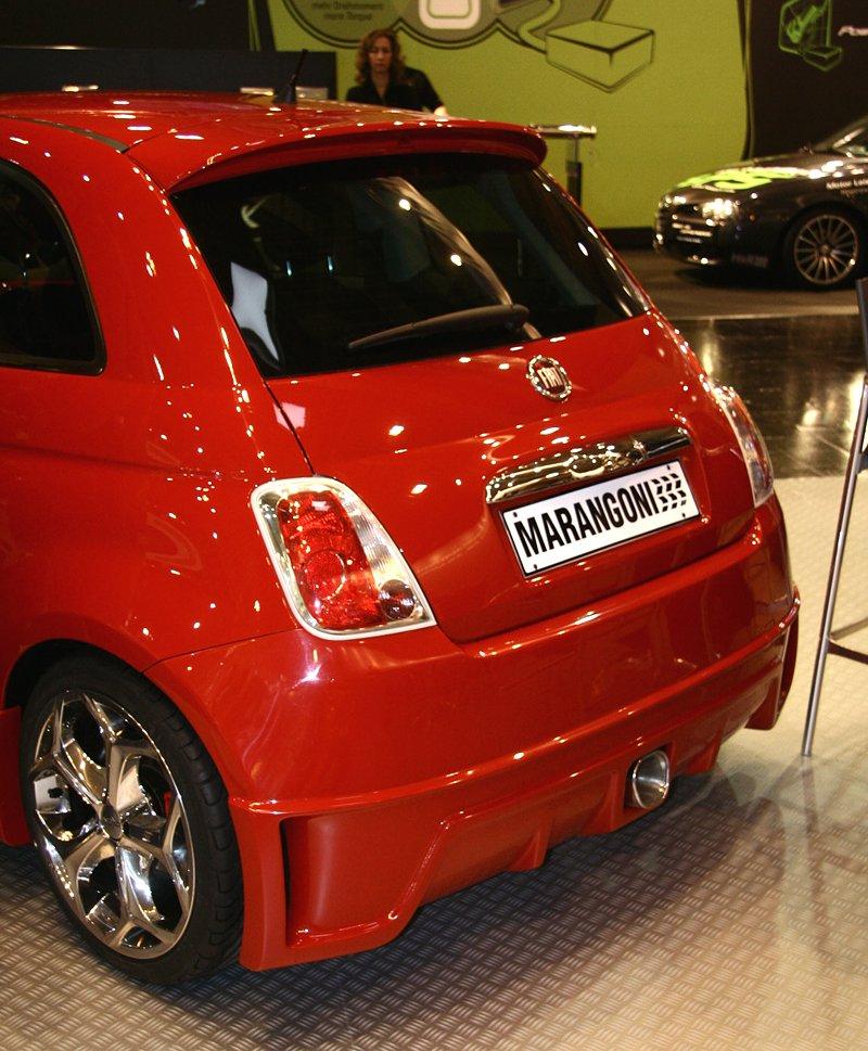Essen 2007: Fiat 5-0-0 Super TRC Marangoni – Rozzlobená beruška: - fotka 4