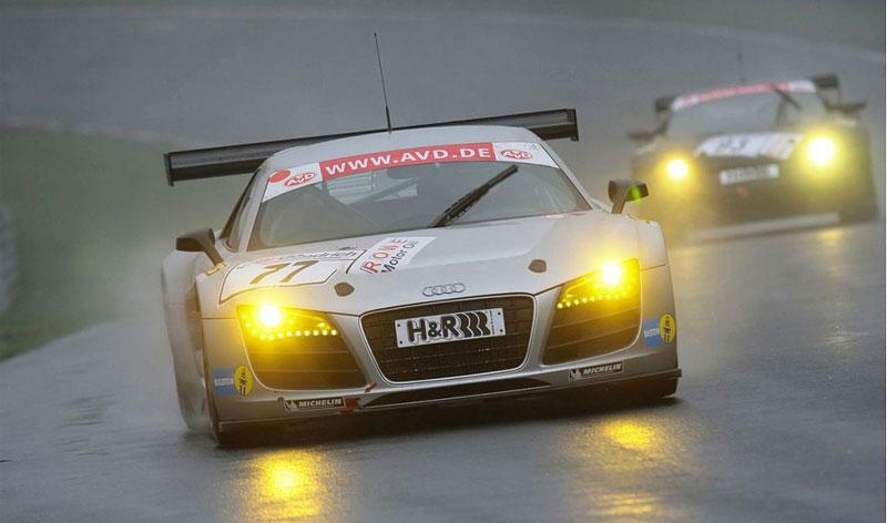 Audi R8 LMS: sedm vozů na 24 hodin Nürburgringu: - fotka 7