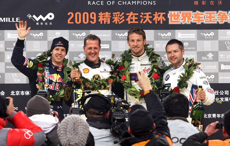 Alain Prost se zúčastní Race of Champions 2010: - fotka 6