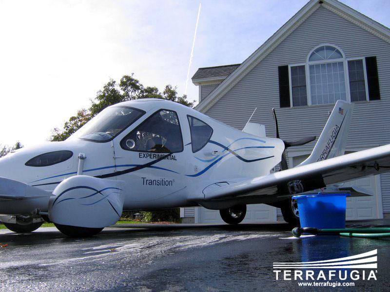 Terrafugia Transition: Létající auto aneb Fantomas by měl radost: - fotka 8