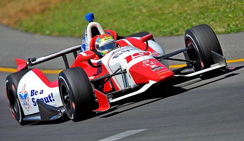 Zahynul Justin Wilson, bývalý pilot F1 a F3000: - fotka 7