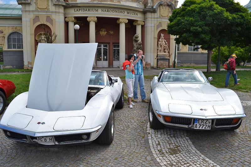Corvette sraz Praha 2012: velká fotogalerie: - fotka 86
