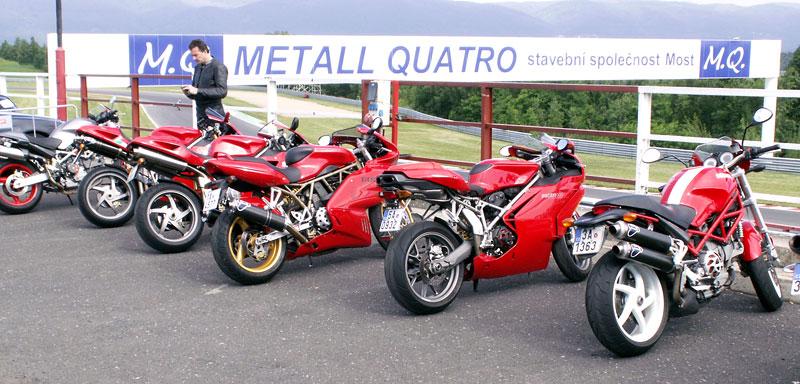 Ducati den - Autodrom Most 2009: - fotka 8